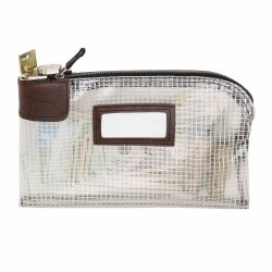 "Clear View Locking Security Bag - 16"" x 12"", Rip-Stop"