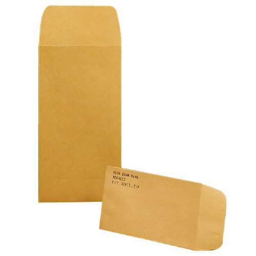 Coin Envelopes Brown Kraft 3 Sizes Block And Company