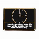 Deposit After Easel Sign