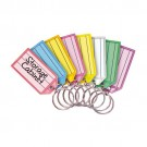Multi-Colored Key Tags - Color Assortment