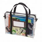 Clear-View Universal Briefcase - Clear Vinyl