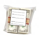 "8-1/4"" x 9-1/4"" Safe Deposit Bags Clear 1000 per box"