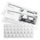 Currency Counter Cleaning Cards featuring Waffletechnology®
