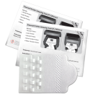 "4"" Thermal Printer Cleaning Card featuring Waffletechnology® ("