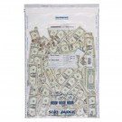 "20"" x 30"" Tamper-Evident Deposit Bags, Clear, Size H, 100/bx"