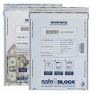 Tamper-Evident Deposit Bags 12x16 Clear White
