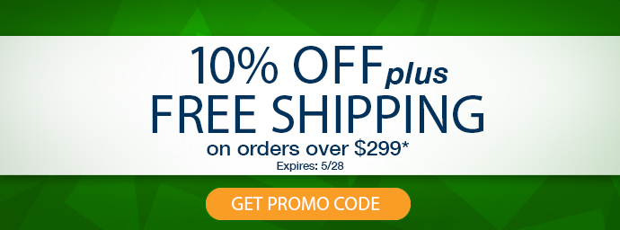 10% Off and Free Shipping